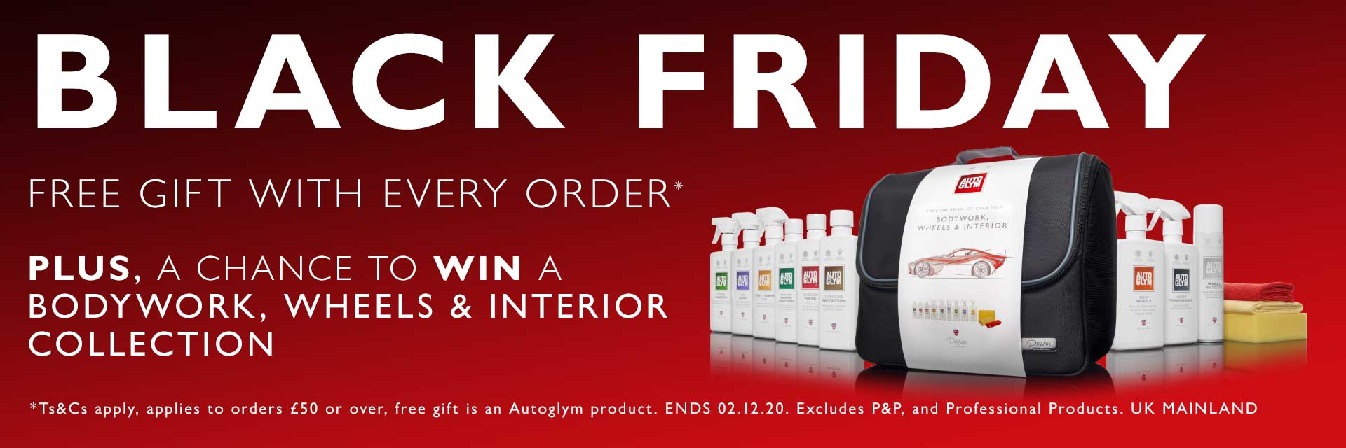 Black Friday Offer - Spend over £50 and get a free Anti-Bacterial Multi-Surface Sanitiser