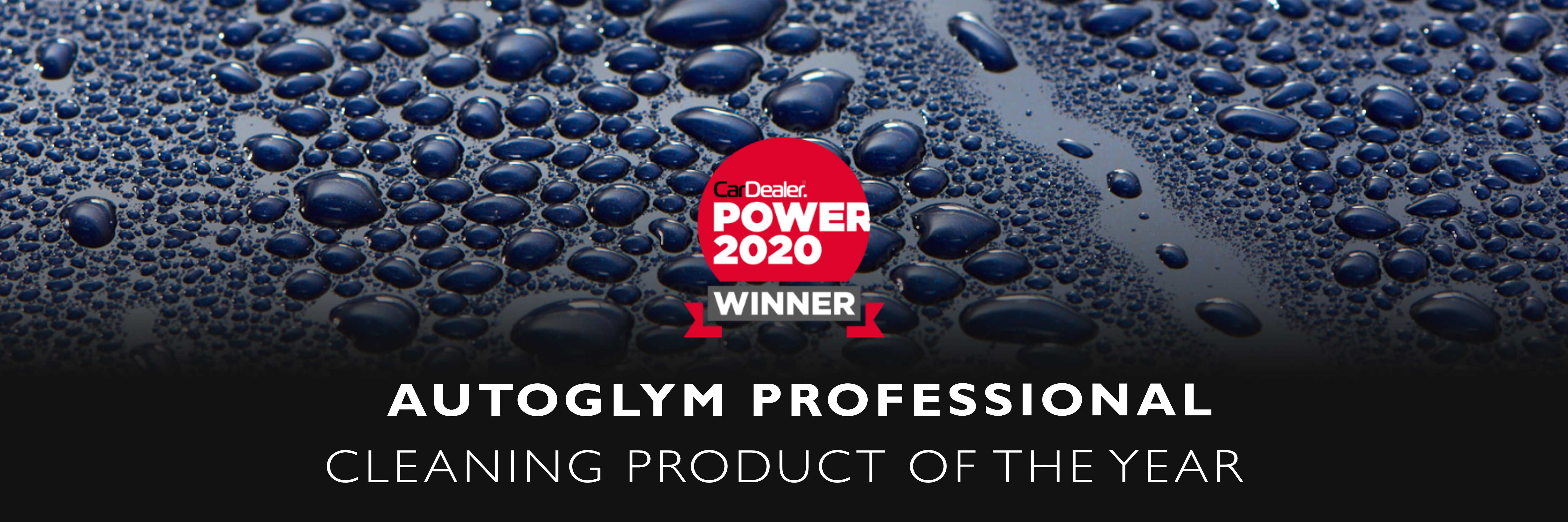 Autoglym Professional Car Dealer Power Cleaning Product of the Year 2020!